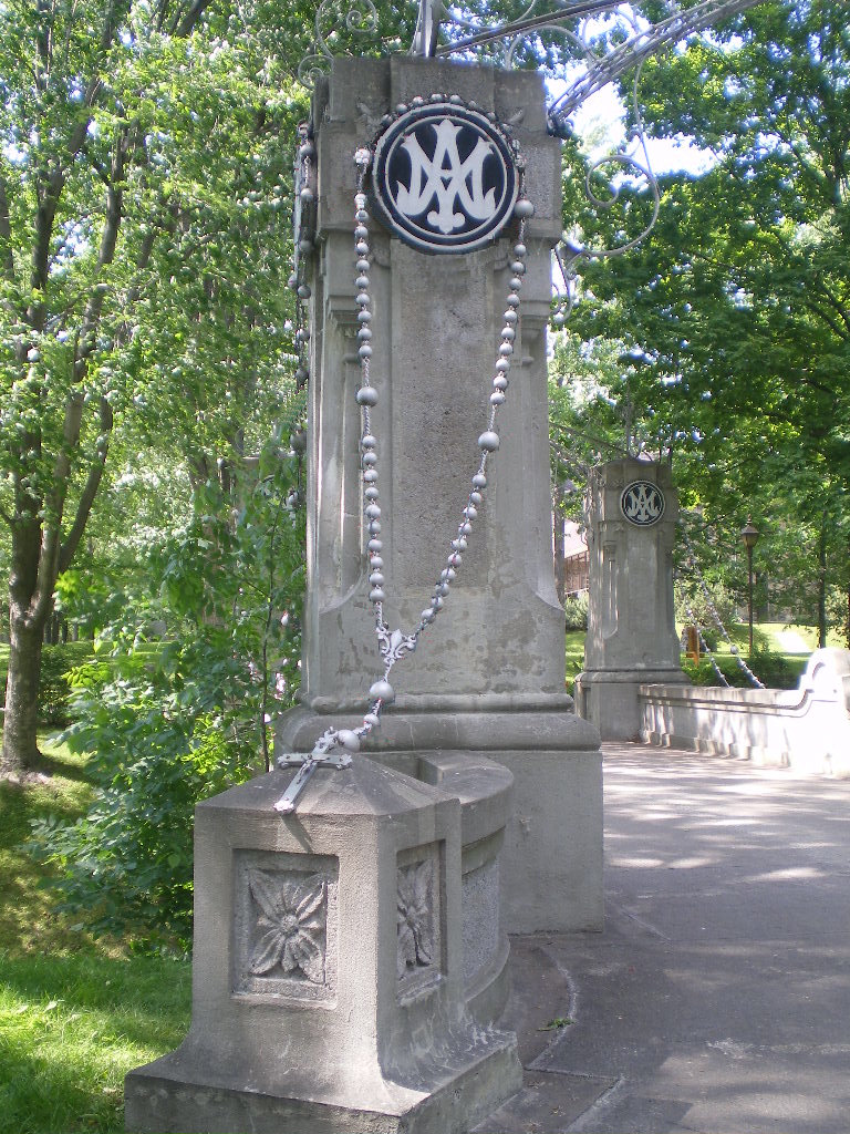 Rosary Bridge in Canada