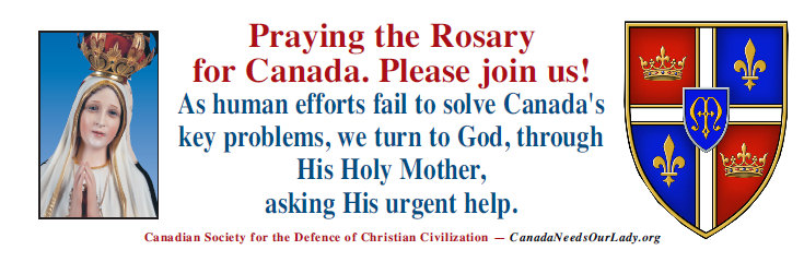 Rosary Banner