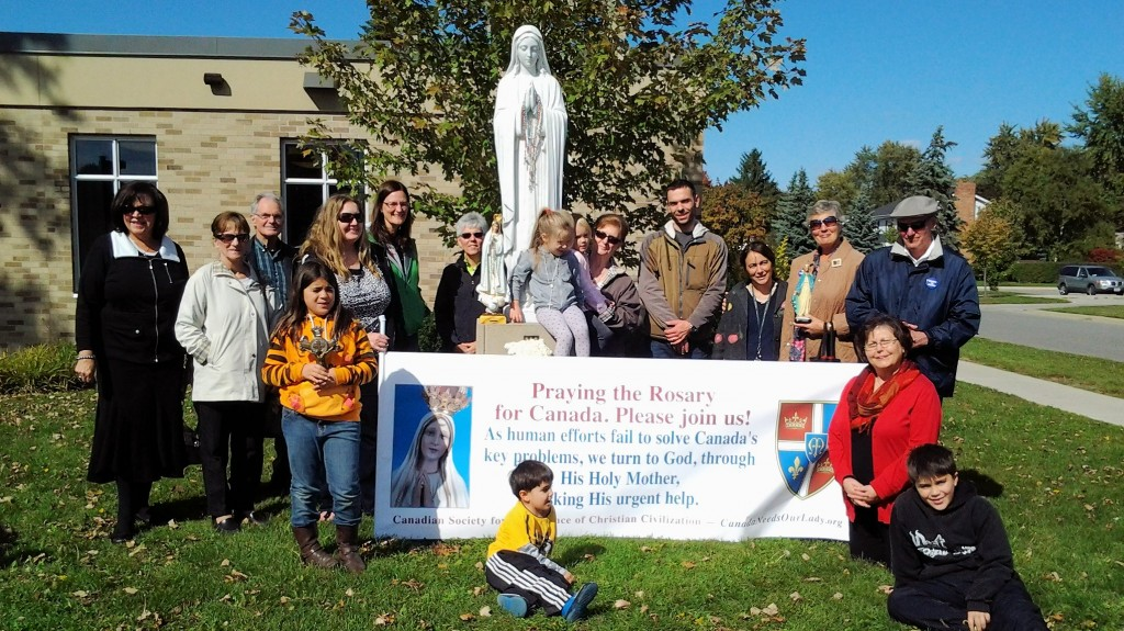 Rosary Rally Windsor