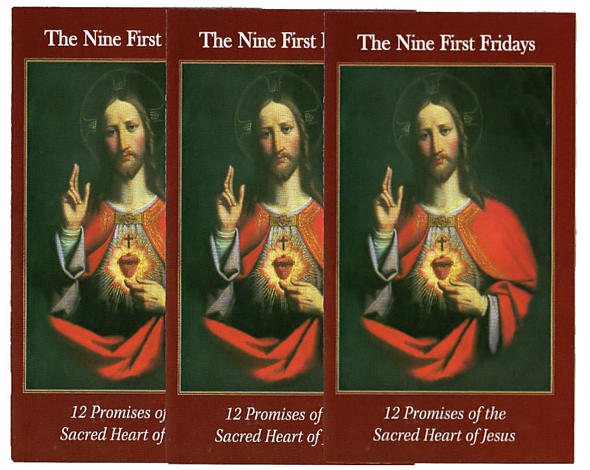 3 Nine First Fridays Cards