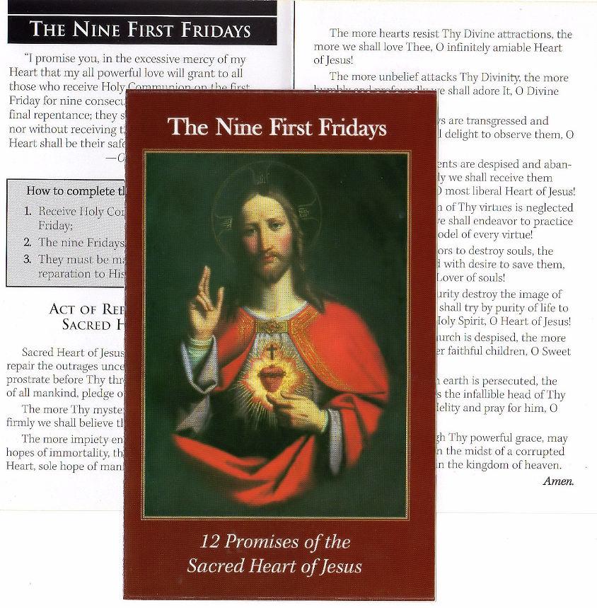 Nine First Fridays together