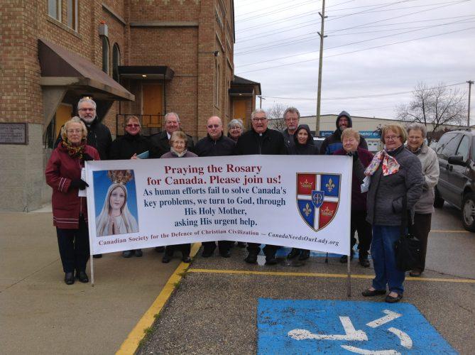 Holy Eucharist Church Parking Lot, Winnipeg